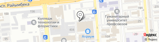 Over Print на карте Алматы