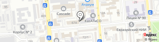 Envico, ТОО на карте Алматы