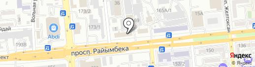 Профиндустрия-kz на карте Алматы