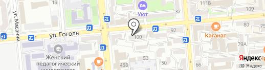 Магазин чулочных изделий на карте Алматы