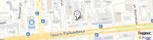 Шашлычная на Талгарке на карте Алматы