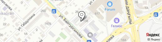 МЕБЕЛЬЛОГИСТИКА на карте Алматы