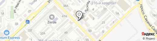 Адвокатская контора Мороз Ю.Л. на карте Алматы