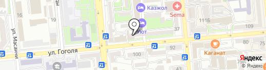 Меди-Сервис на карте Алматы