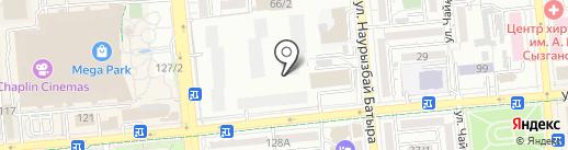 INTEKNO SG, ТОО на карте Алматы