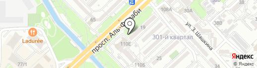 Дария на карте Алматы