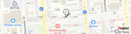 ZFC на карте Алматы