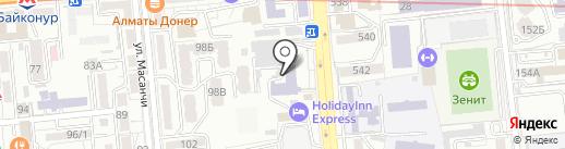 Zhakonda на карте Алматы