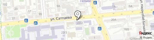 Институт промышленной инженерии им. А. Буркитбаева на карте Алматы