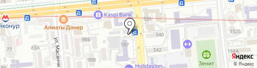 Import Oils, ТОО на карте Алматы
