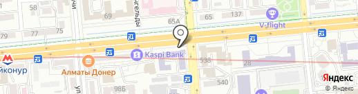 КазГидромет на карте Алматы