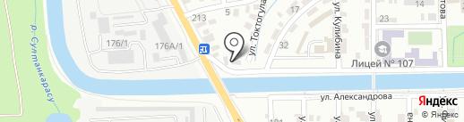 MA-FRA на карте Алматы
