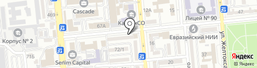 London 2 на карте Алматы