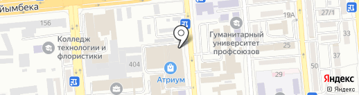 Talapai.kz на карте Алматы