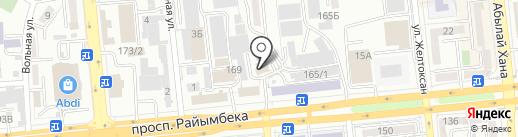 Азия Паркет на карте Алматы