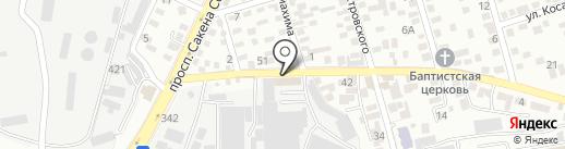 ПАН-Дизайн на карте Алматы