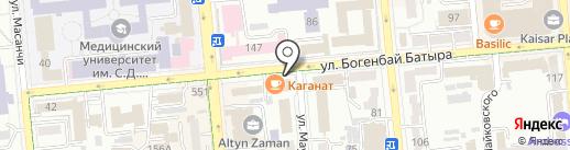 Benefice на карте Алматы