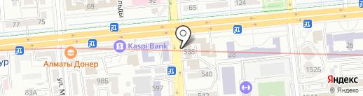 Мариям на карте Алматы
