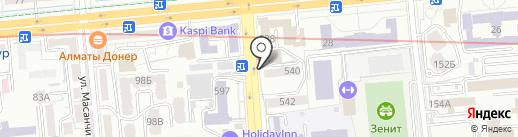 Аймар на карте Алматы
