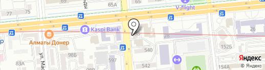 Арт Макс на карте Алматы