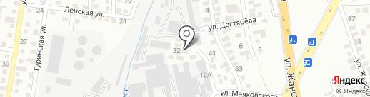 Топаз-5 на карте Алматы