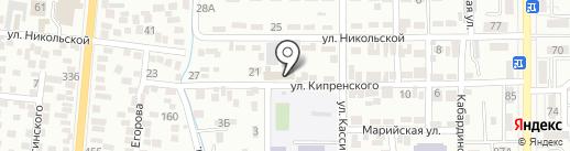 KSC на карте Алматы