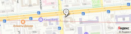 Arismus на карте Алматы