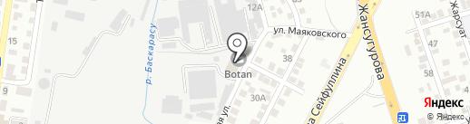 Компания Мегасталь, ТОО на карте Алматы
