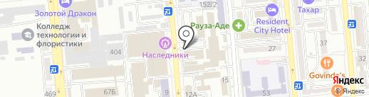 Эльстер Метроника на карте Алматы