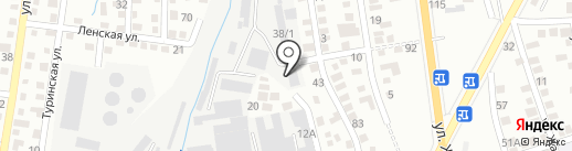 Эрикет на карте Алматы