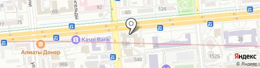 Samal CO, ТОО на карте Алматы