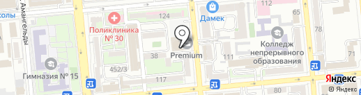 Akhmetov & Partners на карте Алматы