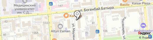 Moda Trade на карте Алматы