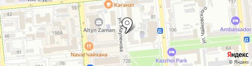 Aqtanger Production на карте Алматы