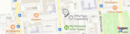 Алматы стройинструмент на карте Алматы