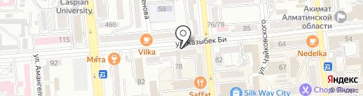 Зан Эксперт на карте Алматы