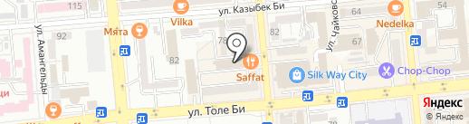 Room 404 на карте Алматы