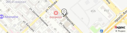 Bosston на карте Алматы