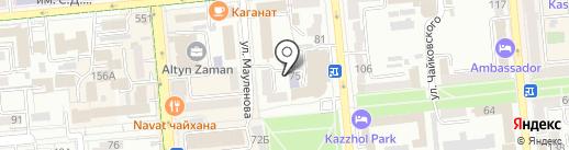 Казахстанско-Российский Медицинский Колледж на карте Алматы