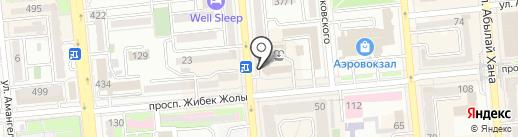 Kinder Taxi на карте Алматы
