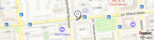 СМАРАГД на карте Алматы