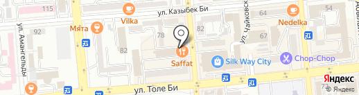 Тандыр на карте Алматы