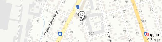 Almatypolyplast, ТОО на карте Алматы
