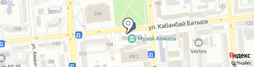 Музей Алматы на карте Алматы