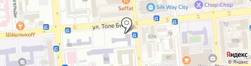 Центр международных программ на карте Алматы