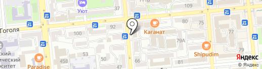 Национальная ассоциация телерадиовещателей Казахстана на карте Алматы