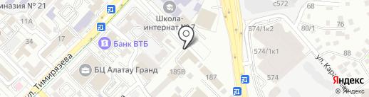 Местная полицейская служба ДВД г. Алматы на карте Алматы