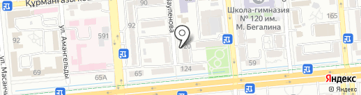 Informix, ТОО на карте Алматы