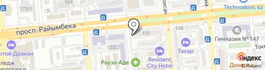 Рауза-АДЕ, ТОО на карте Алматы