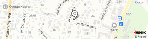 ХозСтройМаг на карте Алматы